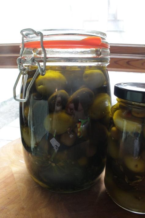 Preserved Olives