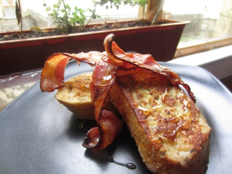 French Toast and Crispy Bacon