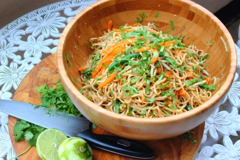 Nutty Noodle Salad