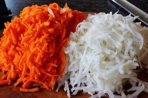 Grated Root Vegetables