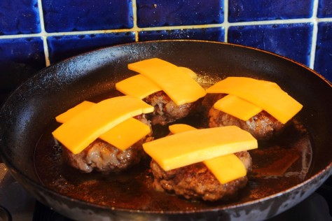 Sliders with Cheese