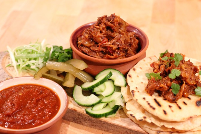 Braised Oxtail Tacos
