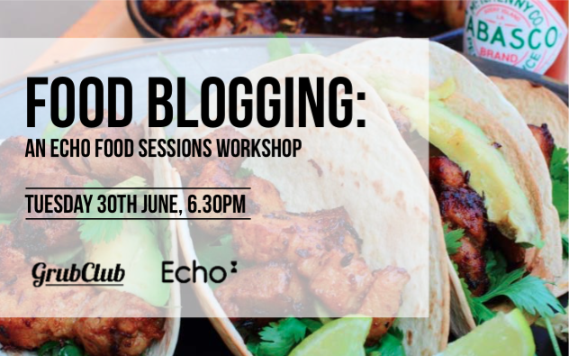 Food Blogging Workshop – 30th June